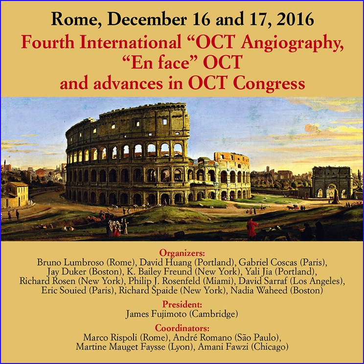 oct angiography en face rome 2016